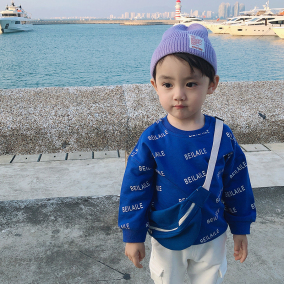 婴儿童装卫衣服网红宝宝春装卫衣