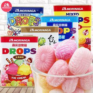 台湾进口 森永 多乐福水果硬糖180g*1盒装 铁盒罐装儿童休闲零食