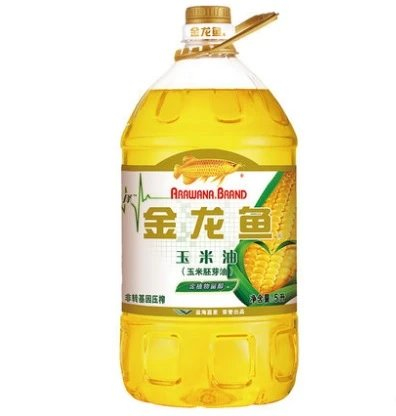 Jinlong fish corn oil 5L non genetically modified barrel for household grain and oil