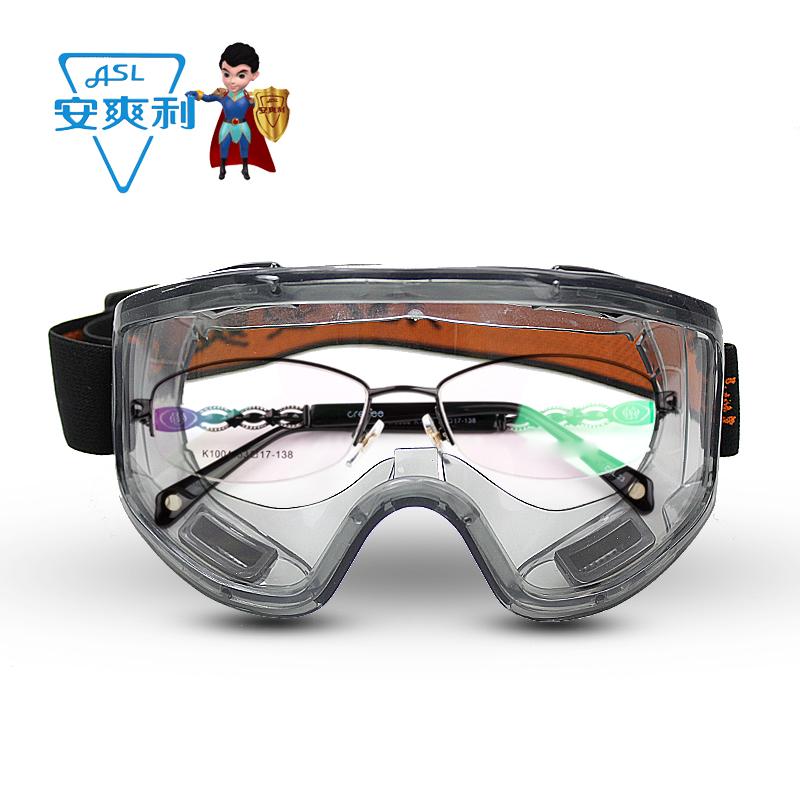 Y200防雾眼镜防风沙粉尘防冲击化工打磨户外骑行护目眼镜