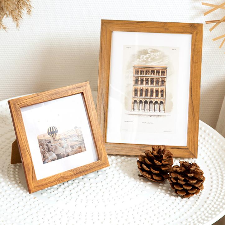 北欧简约相框摆台加定制6寸装饰摆桌客厅卧室相册框相架