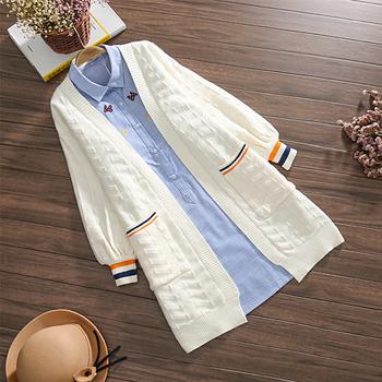 孕妇套装外出时尚款秋装外套毛衣