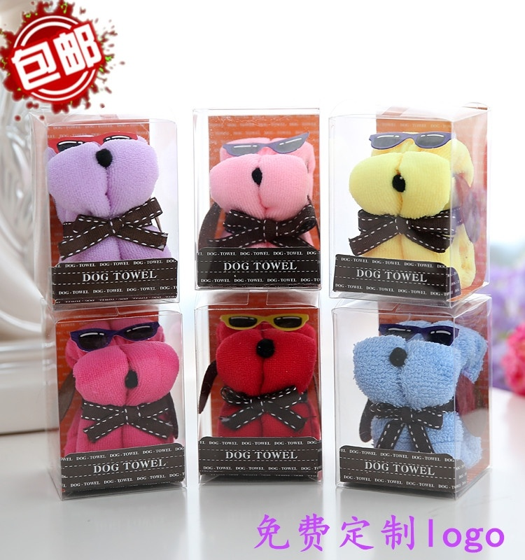 Hot cakes, towels, new years activities, promotional gifts, practical kindergarten childrens festival gifts, auspicious Mouse Doll