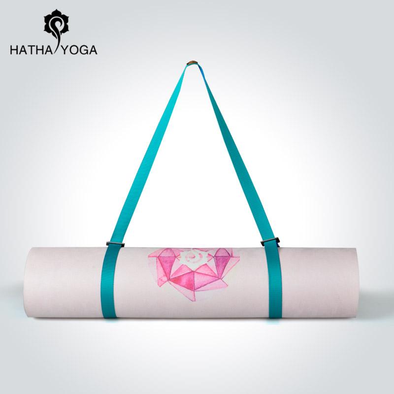 哈他新品瑜伽垫捆绑带绑带收纳背带绑绳瑜伽伸展带多用途轻奢背绳