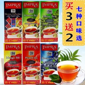 斯里兰卡进口红茶包英伯伦水果味袋泡红茶柠檬红茶芒果桃子风味茶