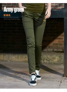 户外军迷服饰夏款新款工装裤军旅风迷彩裤修身薄款小直筒女长裤