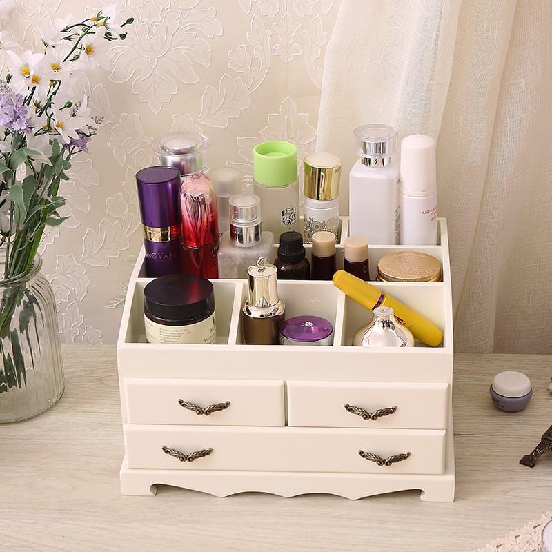 �品�W式木�|精品首�盒木制盒公主梳�y盒首�箱桌面化�y品收�{盒