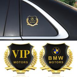 大众VIP汽车改装装饰金属车贴侧标车身车窗麦穗车标别克哈弗现代