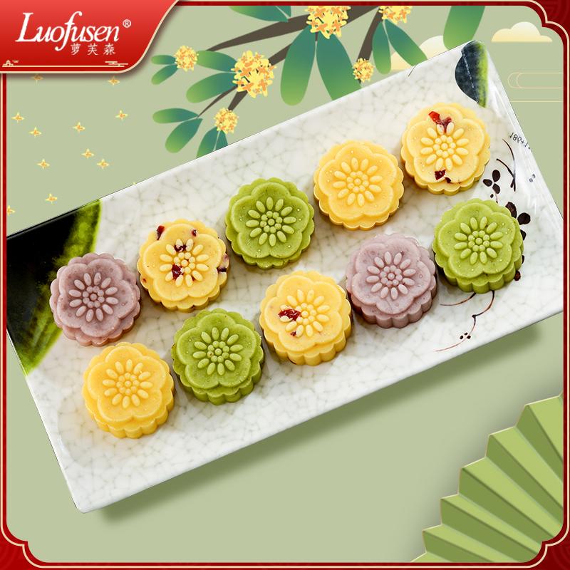 桂花糕广西桂林特产绿豆糕传统糕点绿豆饼正宗老式小吃零食伴手礼