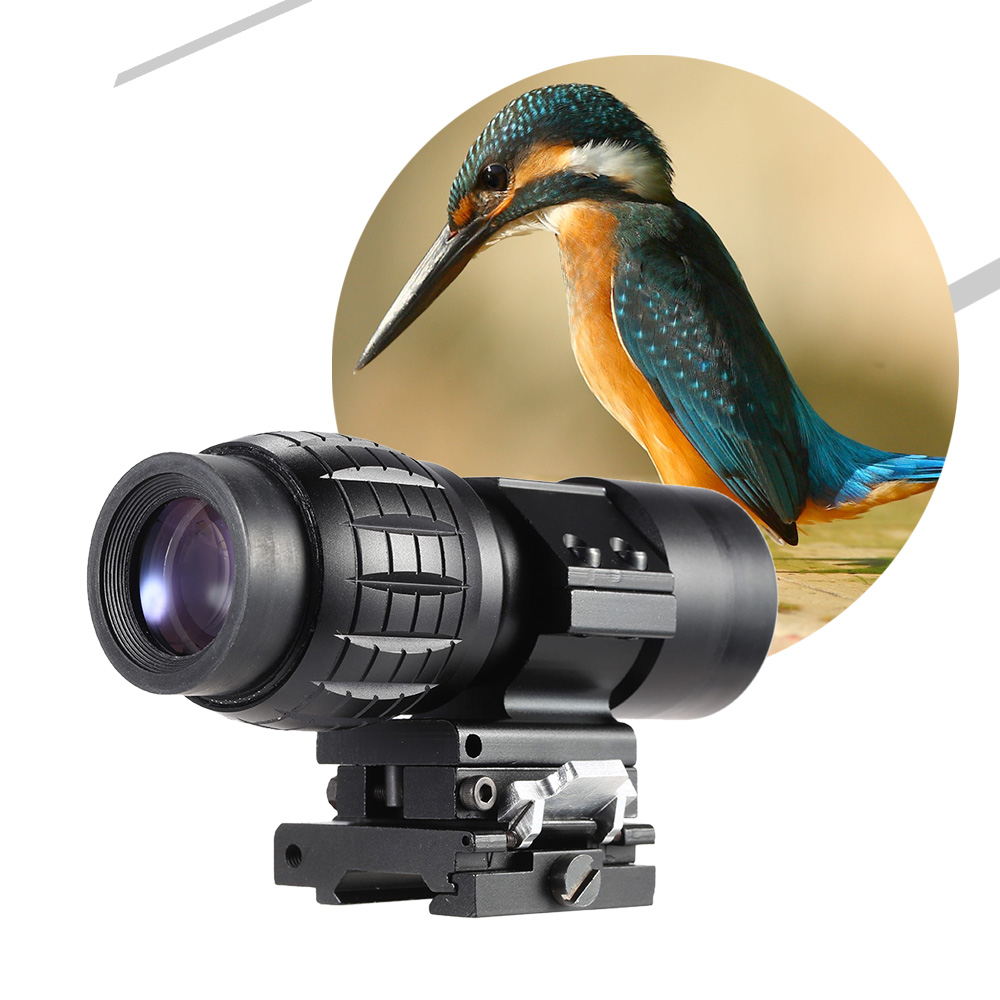 3X Magnifier Scope Sight for Bird Watching Hunting