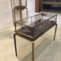数码专卖店3.5配件柜展示桌收银台靠墙矮柜手机柜台3.0华为体验台