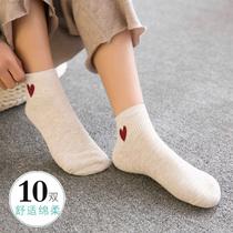 韩版嘻哈欧美街头袜ulzzang潮流创意卡通插画男女中筒袜子ins日系