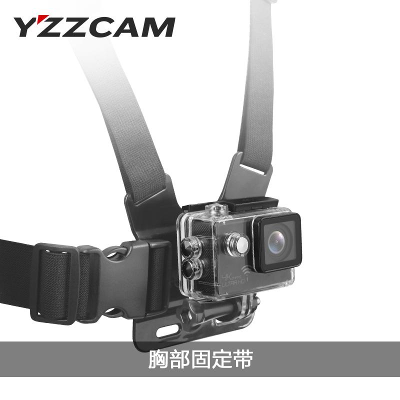 Движение камера гора собака камера машинально SJCAM небольшой муравей GoPro монтаж грудь с груди назад фиксированный бандаж стоять ремень