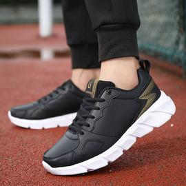 品牌男鞋运动鞋秋季飞织透气轻便跑步鞋男士休闲鞋学生韩版旅游鞋