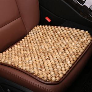 夏天通风珠子座垫 木珠汽车坐垫单片 香樟木透气夏季椅垫凉垫通用