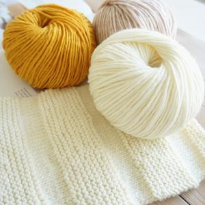 手工编织羊绒羊毛毛线冰岛毛线中粗围巾线帽子线手编DIY毛衣毛线