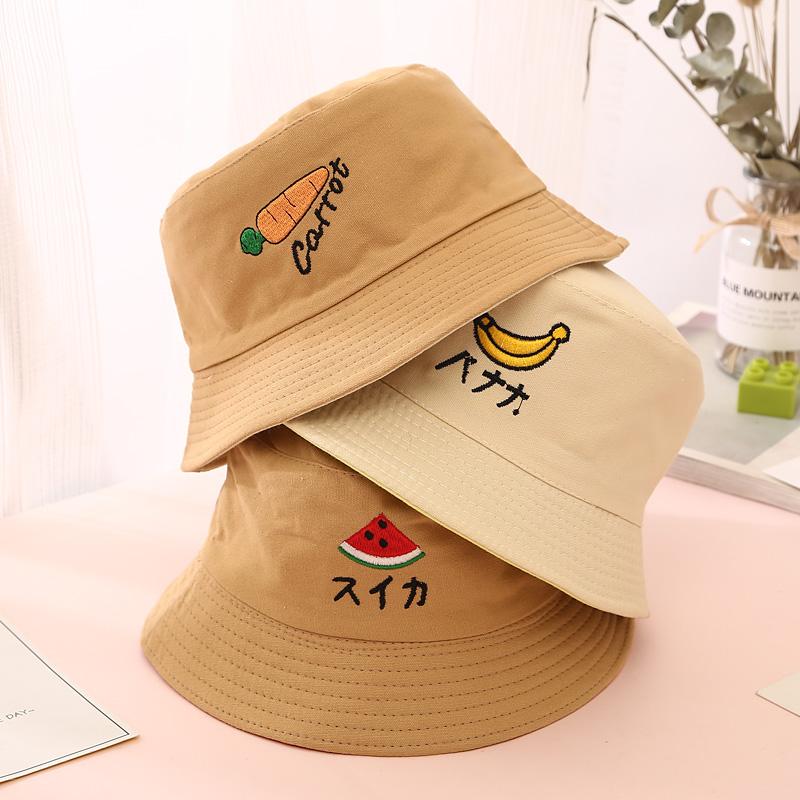 春天宝宝渔夫帽春秋薄款男女童小姐姐儿童盆帽子可爱超萌夏天遮阳