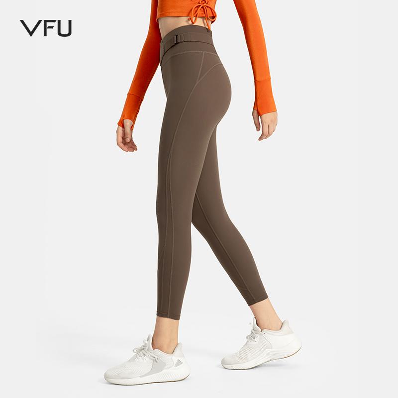 VFU CONNECTION系列健身裤女紧身提臀塑形跑步运动训练瑜伽服春秋