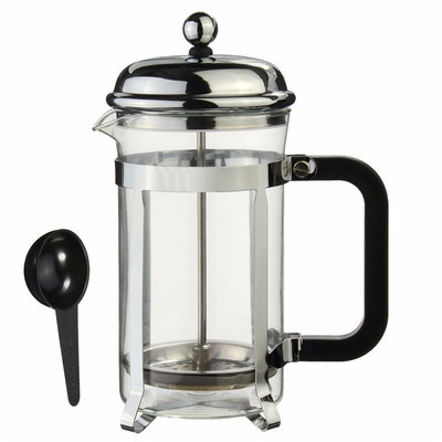 Sliver French Press Coffee Maker Cafetiere Cup Frame heat-