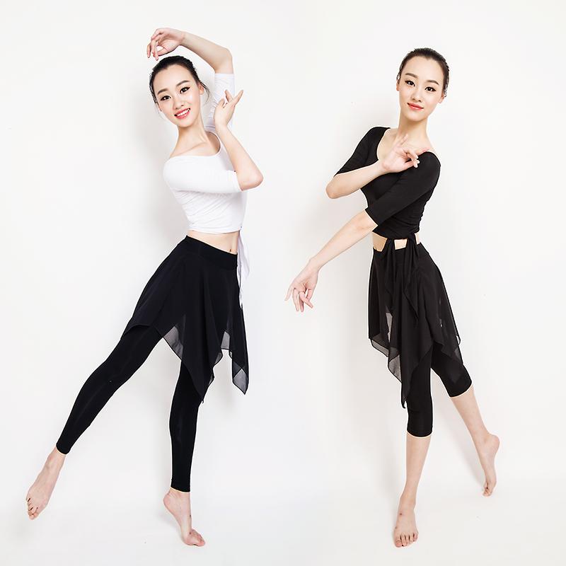 Танец практика гонг одежда взрослых женщин современный танец танец костюм танцы одежда классическая танец форма пижама молодежь новый