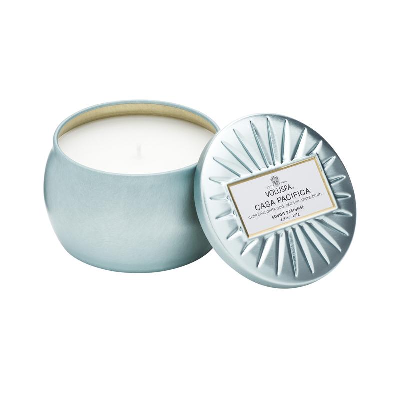 Сша VOLUSPA-Vermeil позолоченный серебро серия небольшой бак эллипс декоративный бак ароматерапия свеча
