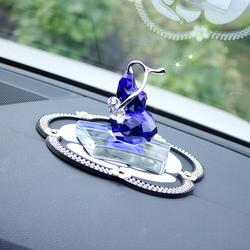 汽车摆件水晶葫芦漂亮车内饰品车上摆饰女高档车载装饰用品保平安
