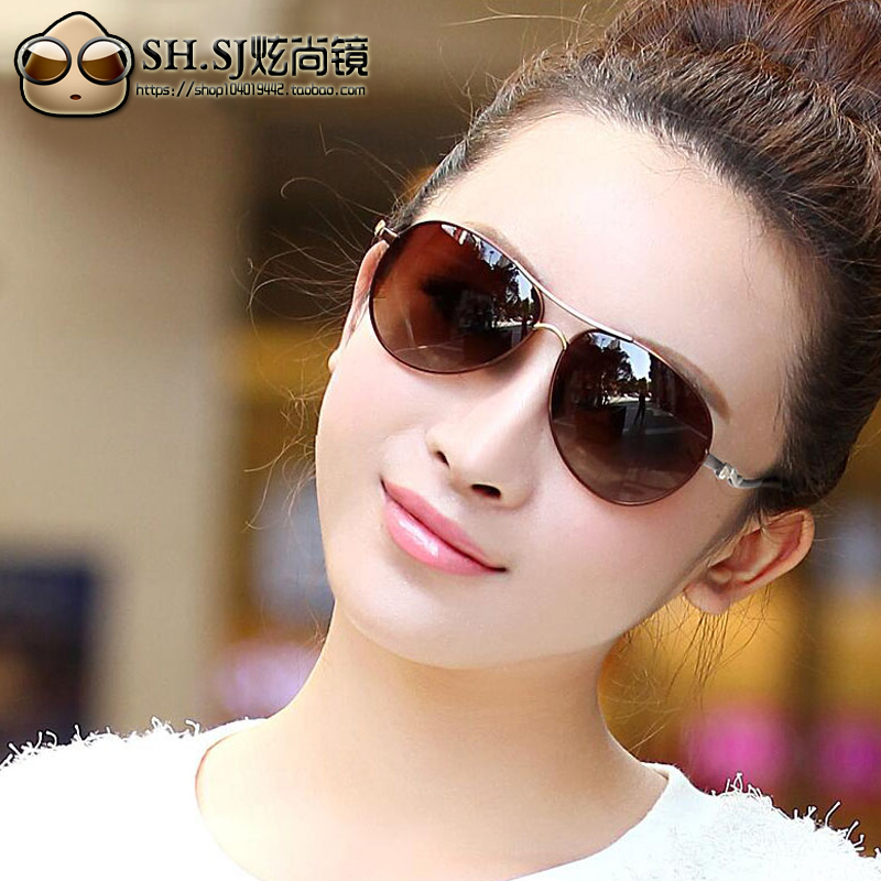 Yalun Polarized Sunglasses 2021 female big frame toad glasses sunglasses female driver sports with myopia special price