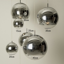 后现在简约圆球形金色泡泡玻璃吊灯北欧餐厅酒吧台服装店单头灯具