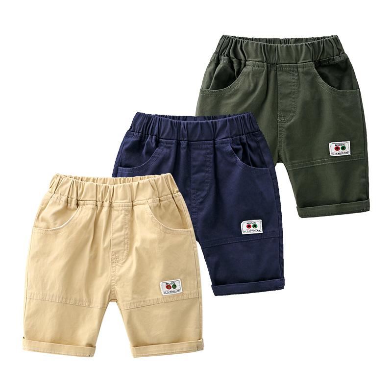 (用19.1元券)男童外穿夏休闲宽松薄款儿童短裤