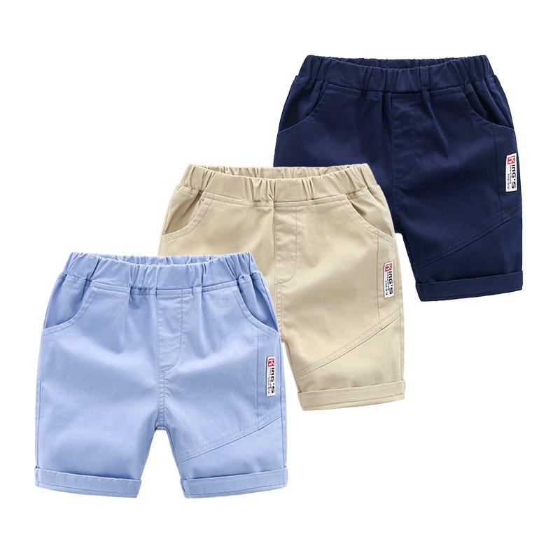 外穿2019新款休闲五分裤男童短裤