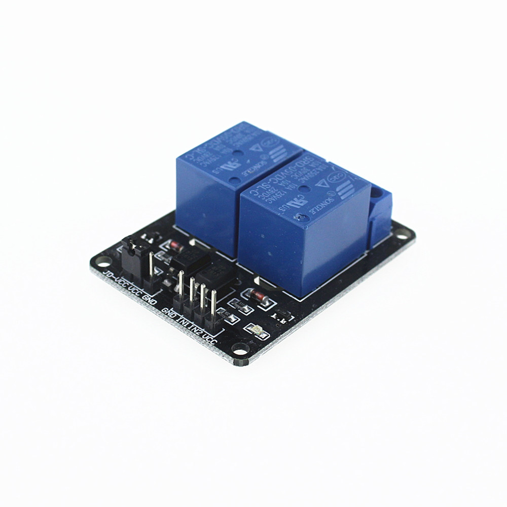 5/lot 2 channel relay module relay expansion board,可领取元淘宝优惠券