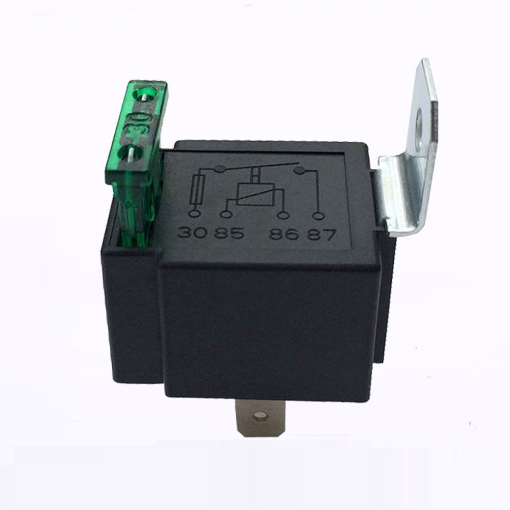 New 4 Pins Relay module 12V DC 40A SPST Fused On Off Car Bik,可领取元淘宝优惠券