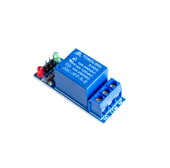 5PCS 1 Channel 5V Relay Module Low level for SCM Household,可领取元淘宝优惠券