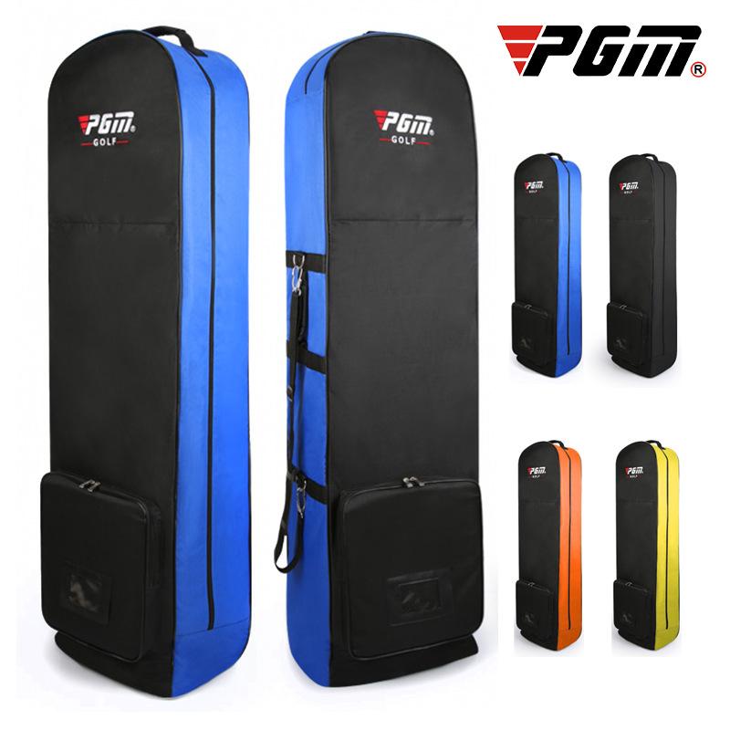 厂家直销 m golf 高尔夫航空包 可折叠便捷滑轮航空托运尼球包