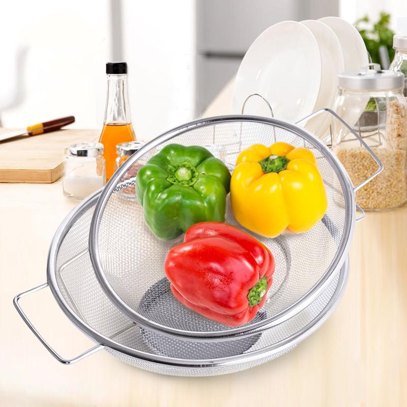 日本购日本进口不锈钢沥水盆 厨房洗菜篮沥水篮洗菜盆漏盆淘米盆