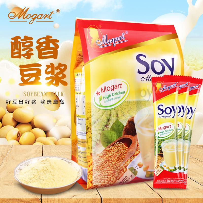 摩岛原味香浓速溶甜豆浆冲饮420g营养早餐泰国原装进口soy豆浆粉