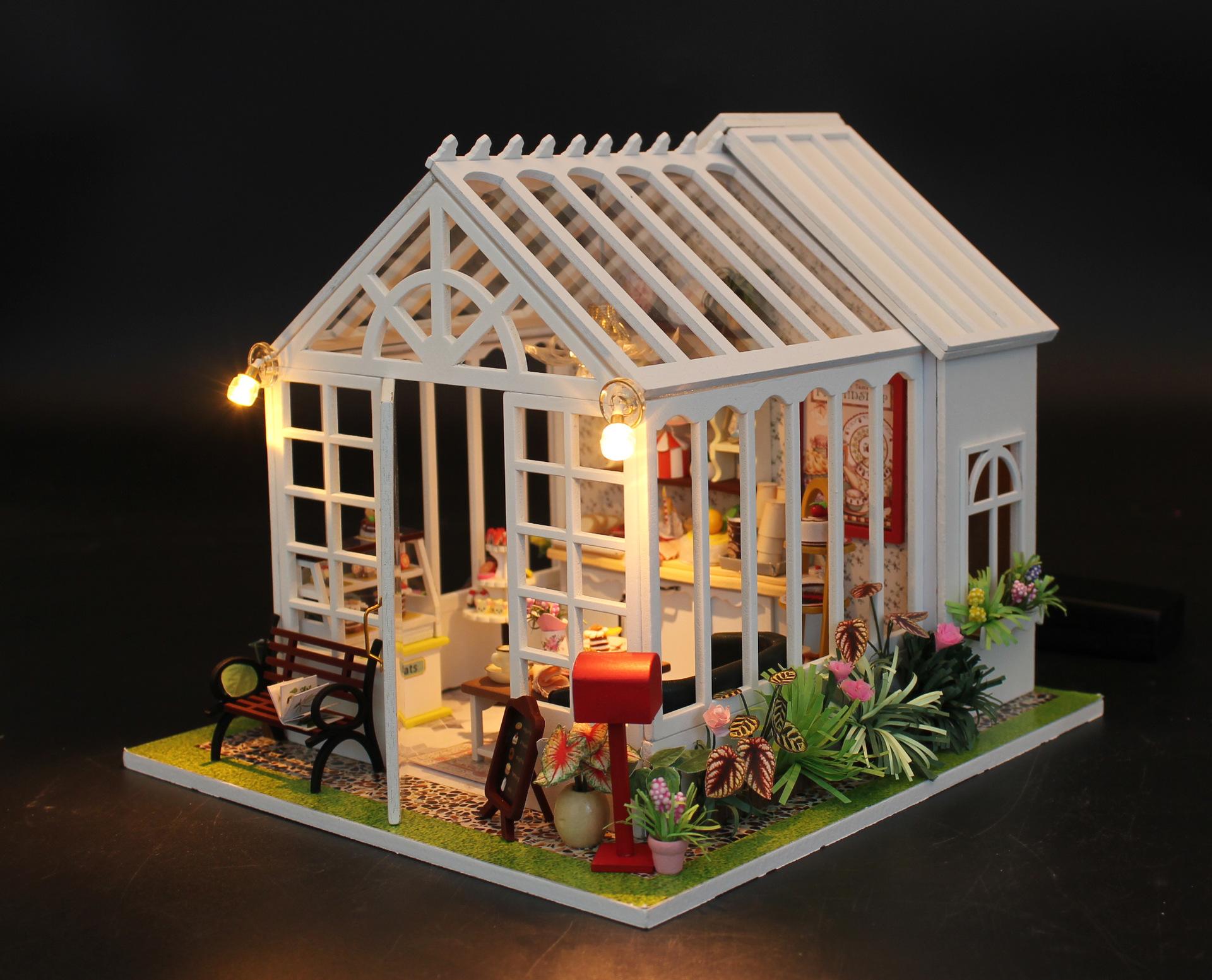 弘达幸福的滋味DIY小屋 大型手工拼装别墅模型 创意情人生日礼品