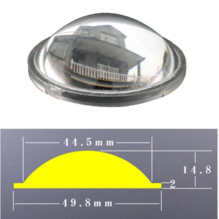 F10 настроить очаговый фонарик акрил лупа 50mm промысел лампа ночь рыба свет вешать рыба свет выдающийся объектив DIY линза