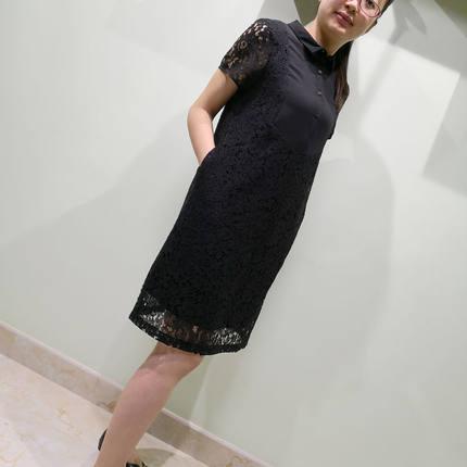 韫2019夏季新款减龄显瘦连衣裙子