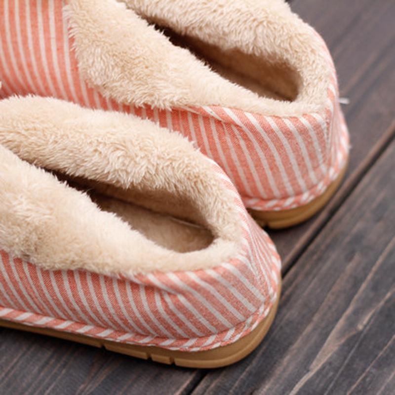 秋冬款包跟情侣棉拖鞋 男女居家保暖棉鞋 可外穿可爱保暖月子鞋