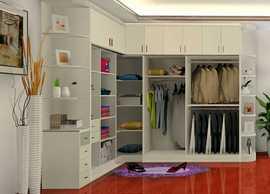 广州番禺实木衣柜定做 简约风格杉木指节板整体衣柜定制包安装