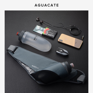 AGUACATE跑步手机腰包 户外马拉松装备运动手机袋男女健身水壶包