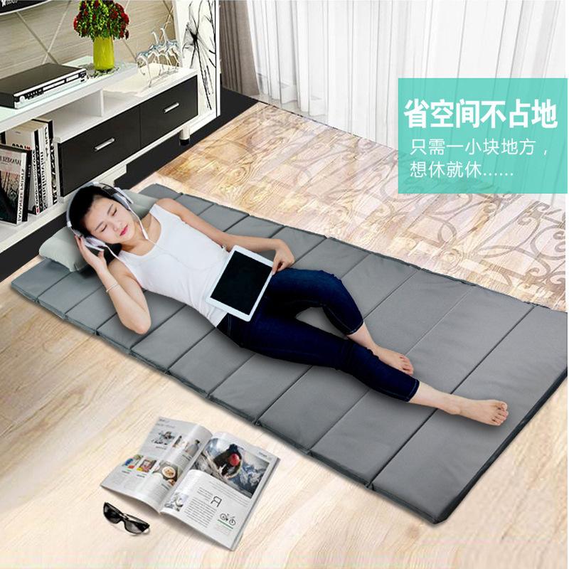 Outdoor folding lunch mat damp proof mat ground mat office nap mattress camping mat