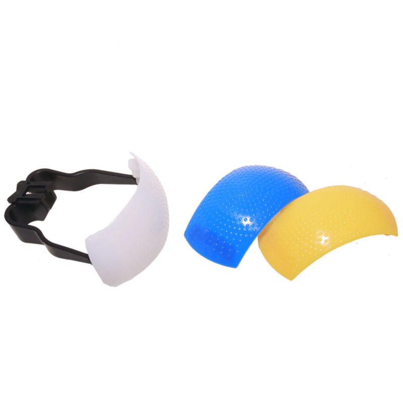 3 color Pop-Up Flash Bounce Diffuser Cover kit For Canon Nik,可领取元淘宝优惠券