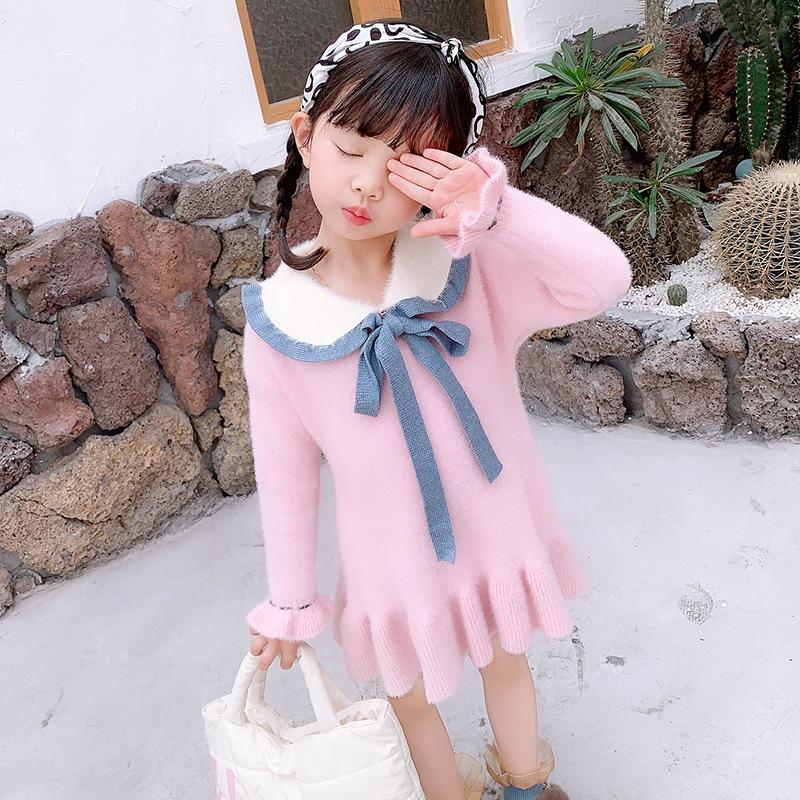【纯棉连衣裙】百搭小公主秋装卫衣长袖女童限100000张券