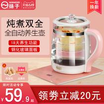 扬子养生壶全自动加厚玻璃多功能电热烧水壶花茶壶家用煮茶器迷你