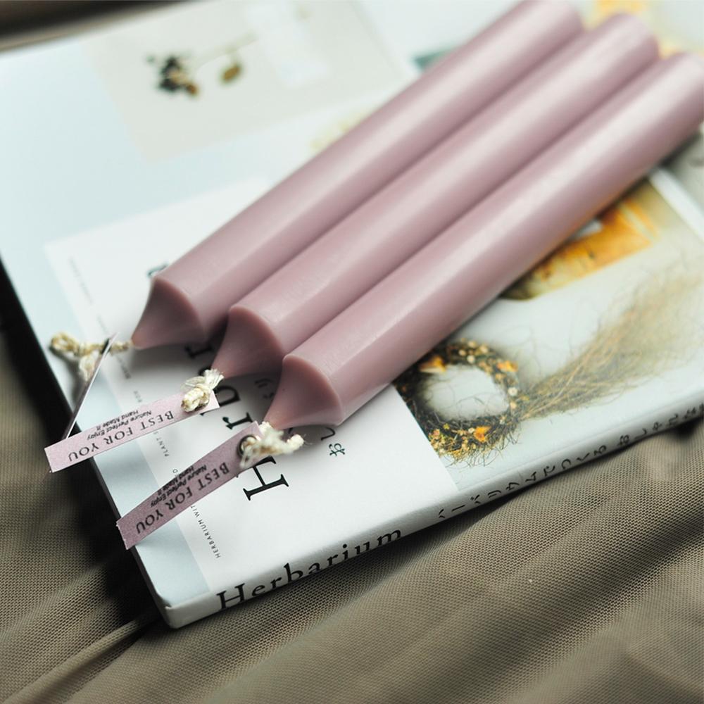 【CHIC ROSE】Смешанный воск ручная работа без Свеча дыма розовый Огнестойкий версия MIX WAX