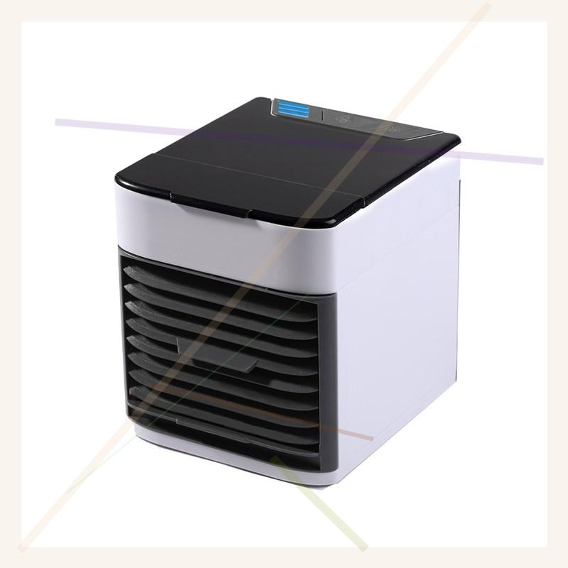 迷你冷风机黑科技家用制冷加冰空调扇小型学生宿舍桌面usb水风扇(用1元券)