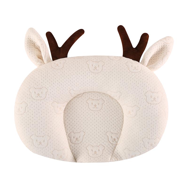 婴儿定型枕新生儿偏头纠正枕头夏季透气宝宝头型矫正乳胶枕
