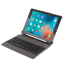 2008 New iPad 9.7 ultra-thin Bluetooth keyboard pencil protective sleeve Pro cover air2/1 new version tablet computer with pen slot sleeping case